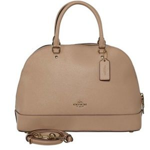 Coach Sierra Bag in Beige/Cream